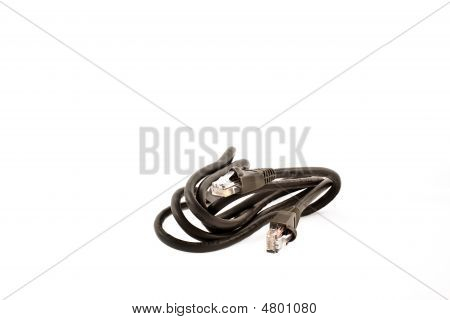 Black Internet Cable