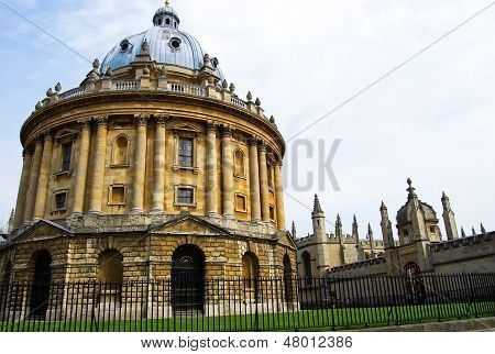 Radcliffe Camera a part of Bodleian Library, Oxford University.