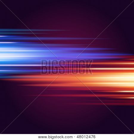 Abstracte gladde branden kleurrijke vlam brand vector achtergrond