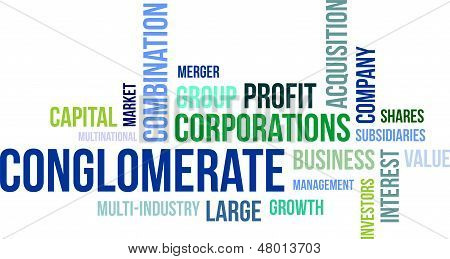 Word Cloud - Conglomerate