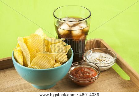 Crisps And Coke