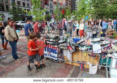 Boston Marathon Attack Memorial