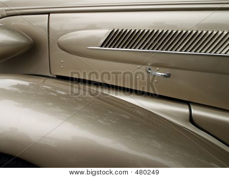 Classic Automobile  Close-up