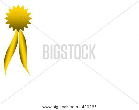 Award On White - Landscape