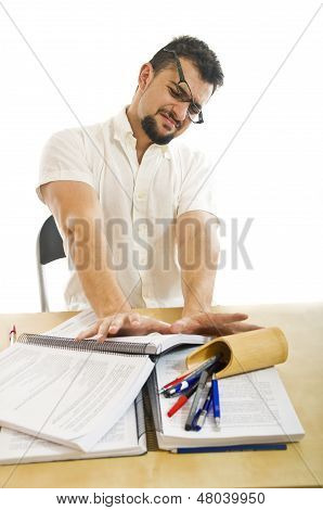Stressed Postulator,