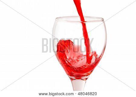 Bebida vermelha