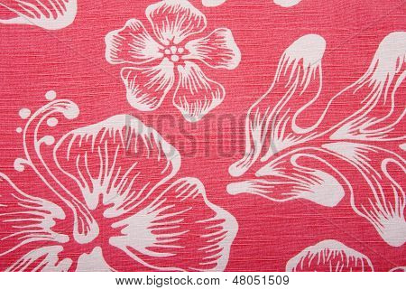 Shirt Background Hawaiian Orange