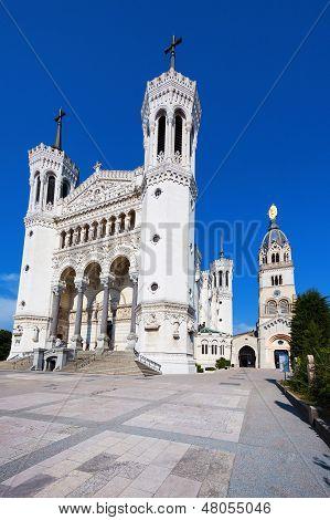 Notre Dame De Fourviere In Lyon