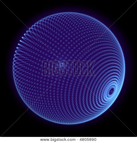 Sphere Blue