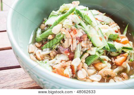 Thai Style Cucumber Spicy Salad