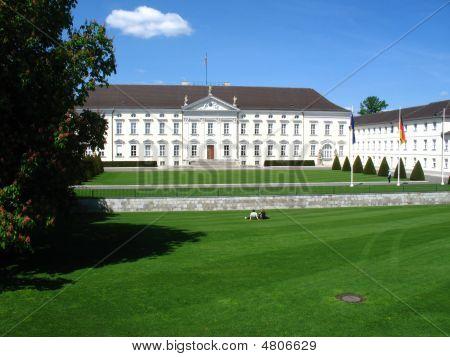 Castle Bellevue In Berlin