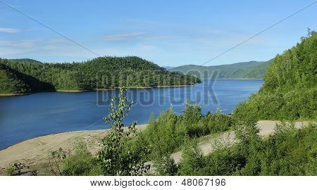 Zeya Reservoir Hydropower, Amur Region, Russia