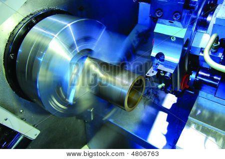 CNC-Drehmaschine mit