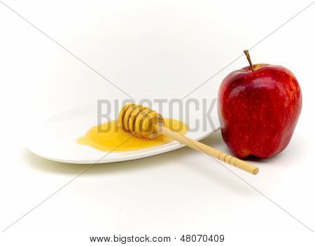 Honey And Appple For Yom Kippur