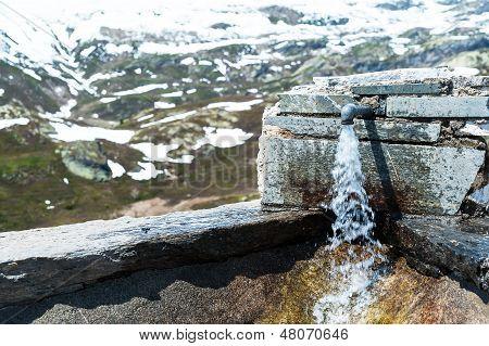 Grifo de agua potable
