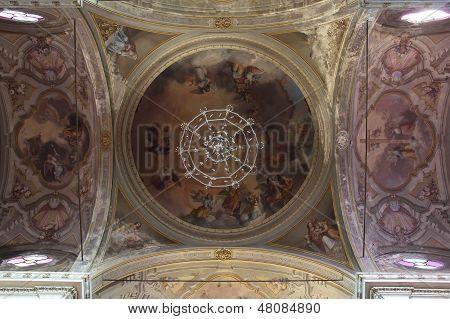 Baroque Ceiling Frescos