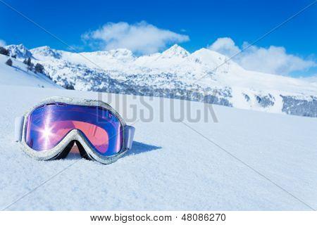 Máscara de esquí