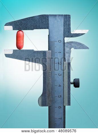 Vernier Scale Measure One Drug