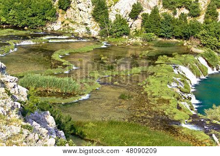 Tufa Cascades Of Krupa River