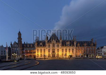 Bruges at the Market Square