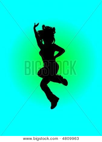 Dança menina