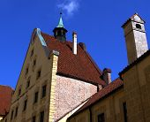 "foto of hedwig  - Castle ""Burg Trausnitz in Landshut City in Bavaria Germany .