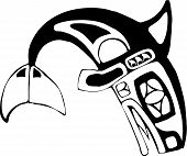 stock photo of tlingit  - Orca - JPG
