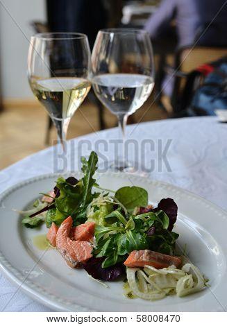 Salmon In Salad
