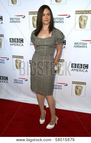 Maggie Siff  at the 6th Annual BAFTA TV Tea Party. Intercontinental Hotel, Century City, CA. 09-20-08