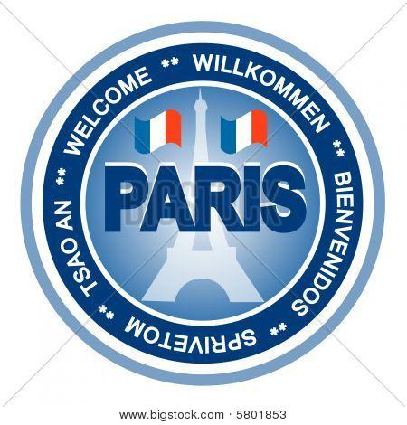 Paris badge