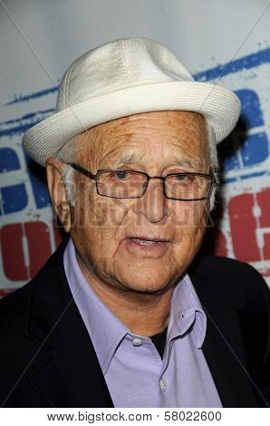 Norman Lear  at Declare Yourself's 'Last Call To Action' voter registration event. The Green Door, Hollywood, CA. 09-24-08