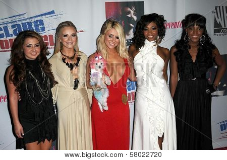 Danity Kane  at Declare Yourself's 'Last Call To Action' voter registration event. The Green Door, Hollywood, CA. 09-24-08