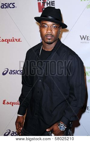 Ray J  at 'Rock The Vote'. Esquire House, Hollywood, CA. 09-25-08