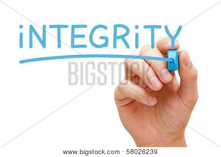 Integrity Blue Marker