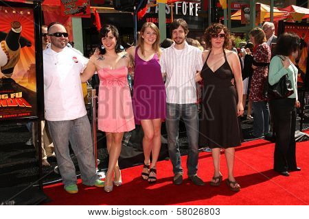 Duff Goldman and the cast of