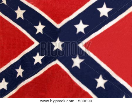 Confederate Flag No Pole