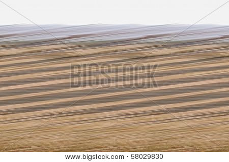Digital Background Of Colored Beige And Brown And Gray Stripes. Glitch Art.