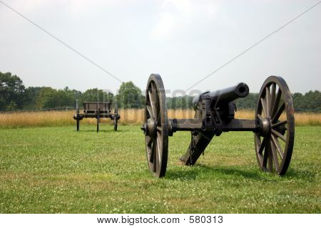 Cannon And Caisson