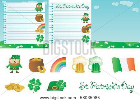 set for St. Patrick's Day