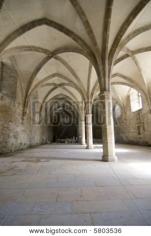 Arches In Medieval Cistern
