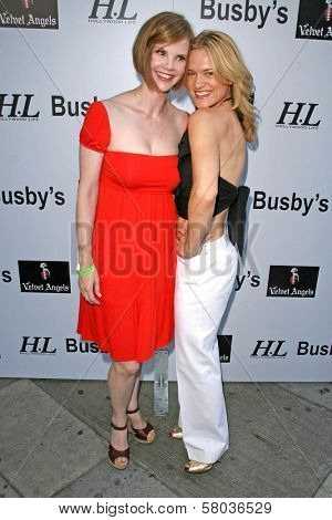 Kiersten Warren and Victoria Pratt  at