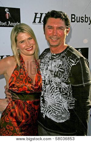 Kristy Swanson and Lou Diamond Phillips  at