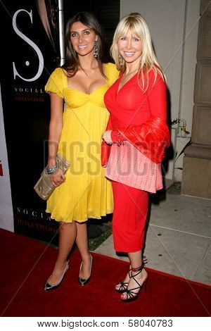 Brittny Gastineau and Lisa Gastineau  at the Summer Stars Party hosted by InTouch Weekly and ISH. Social Hollywood, Hollywood, CA. 05-22-08