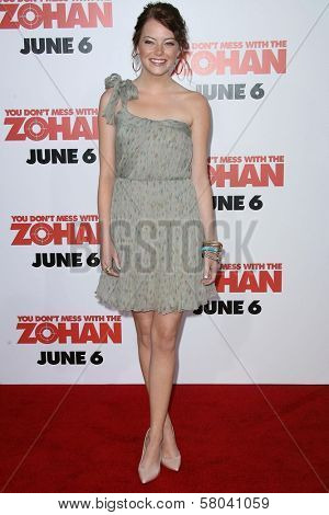 Emma Stone  at the