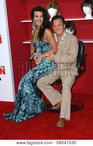 Natalia Guslistaya and Rob Schneider  at the