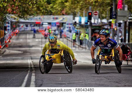 Wheelchair athletes prepare for Sydney race