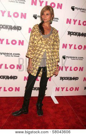 Tamara Feldman  at the Nylon Magazine and Myspace Party. Private Location, Los Angeles, CA. 06-03-08