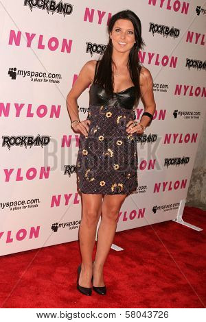 Audrina Patridge  at the Nylon Magazine and Myspace Party. Private Location, Los Angeles, CA. 06-03-08