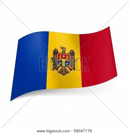 State flag of Moldova