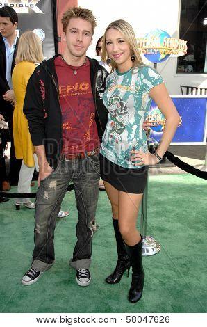 Bobby Edner and Ashley Edner  at the World Premiere of
